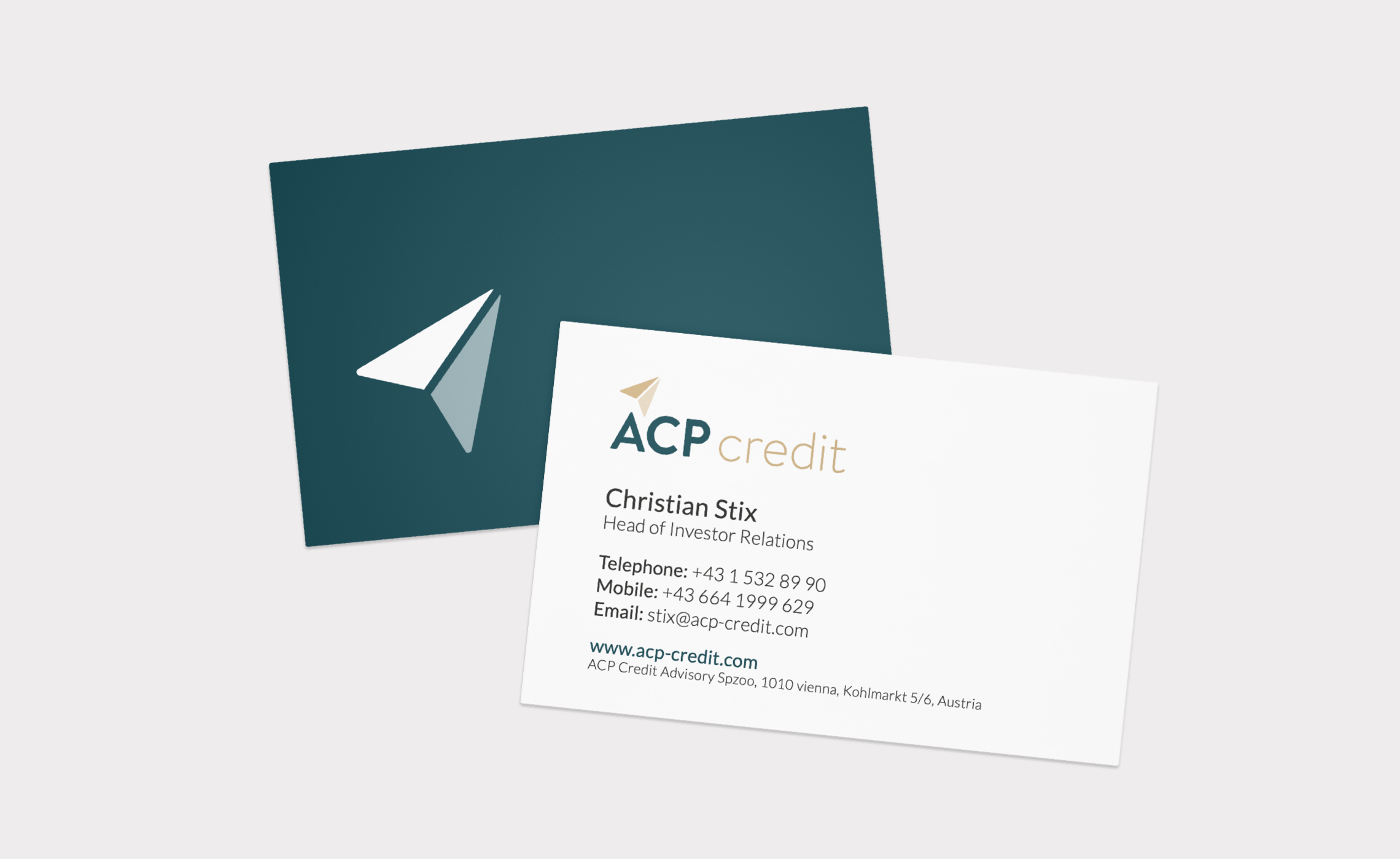 ACP Credit - business cards