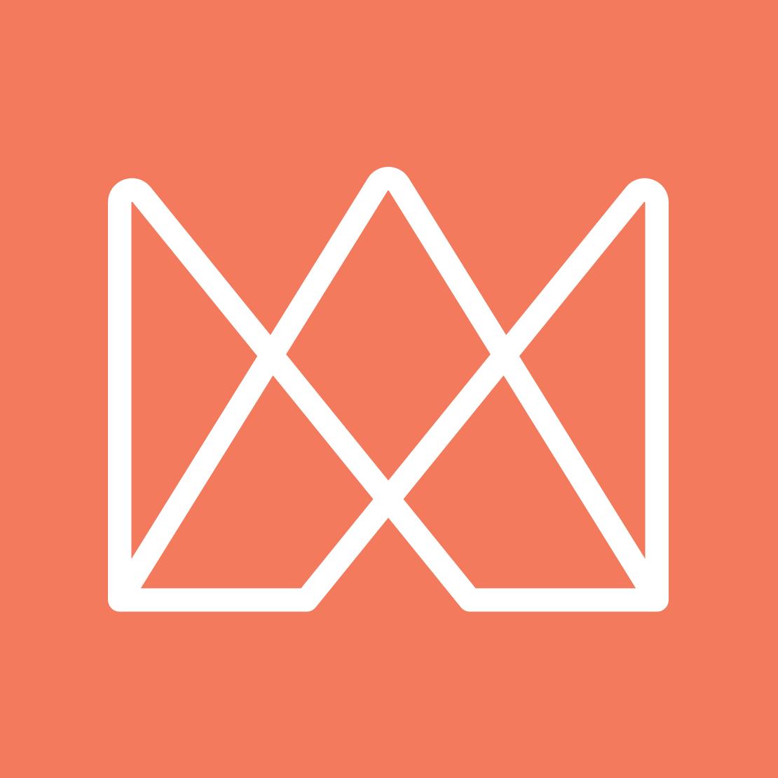 Affinity Works – brandmark reversed