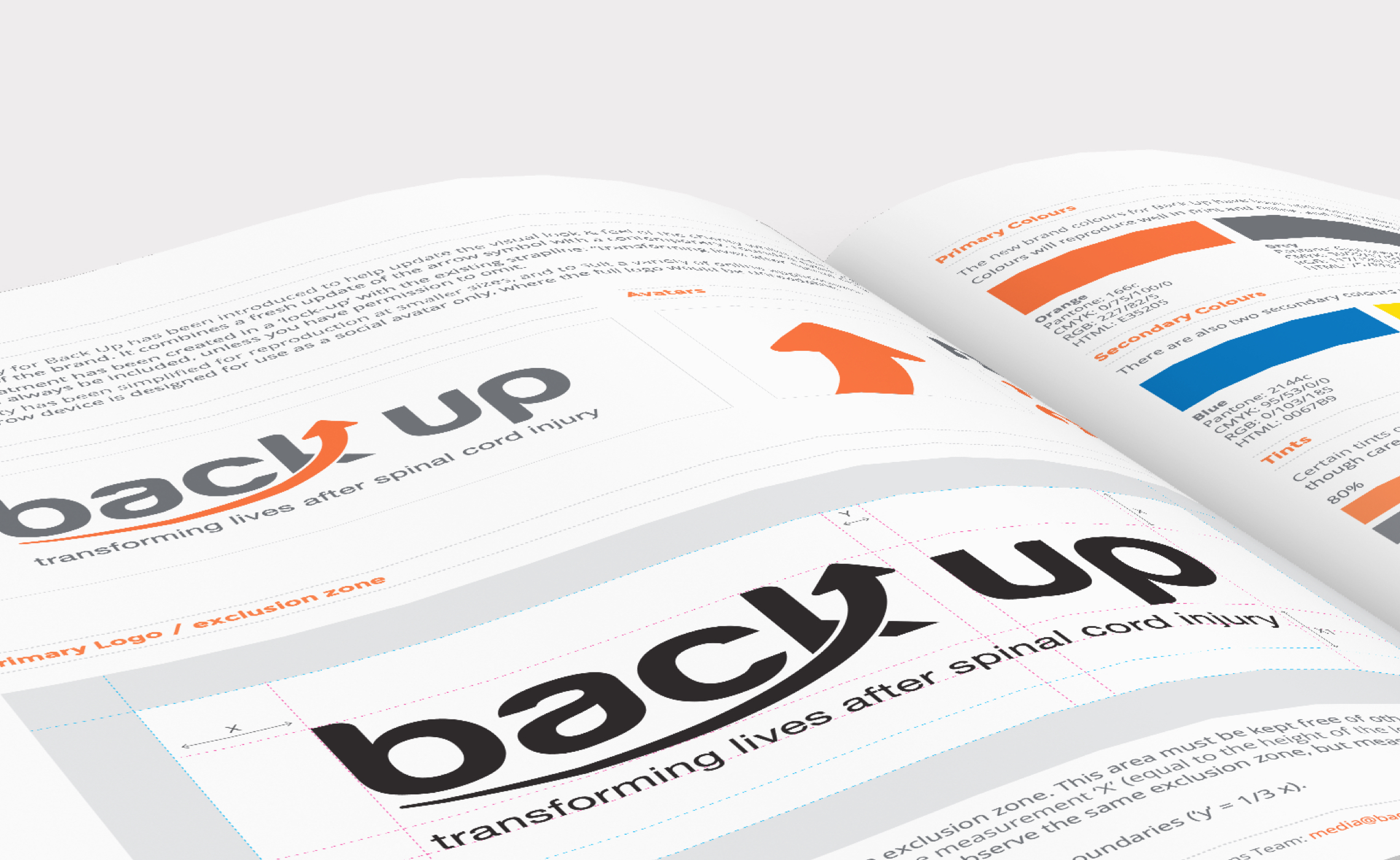 Back Up – brand guidelines