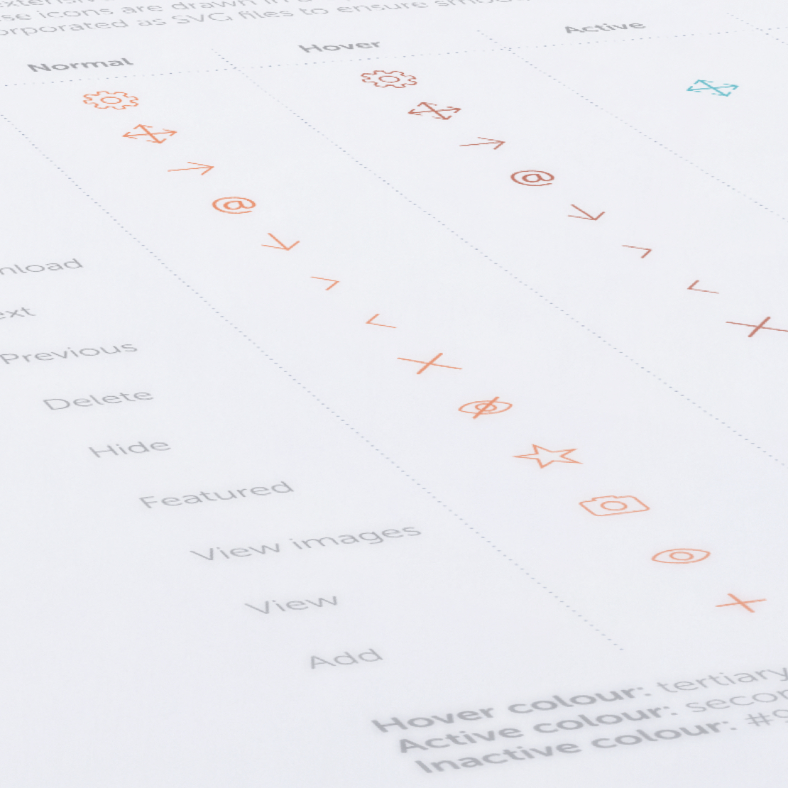 Core Reports – design system