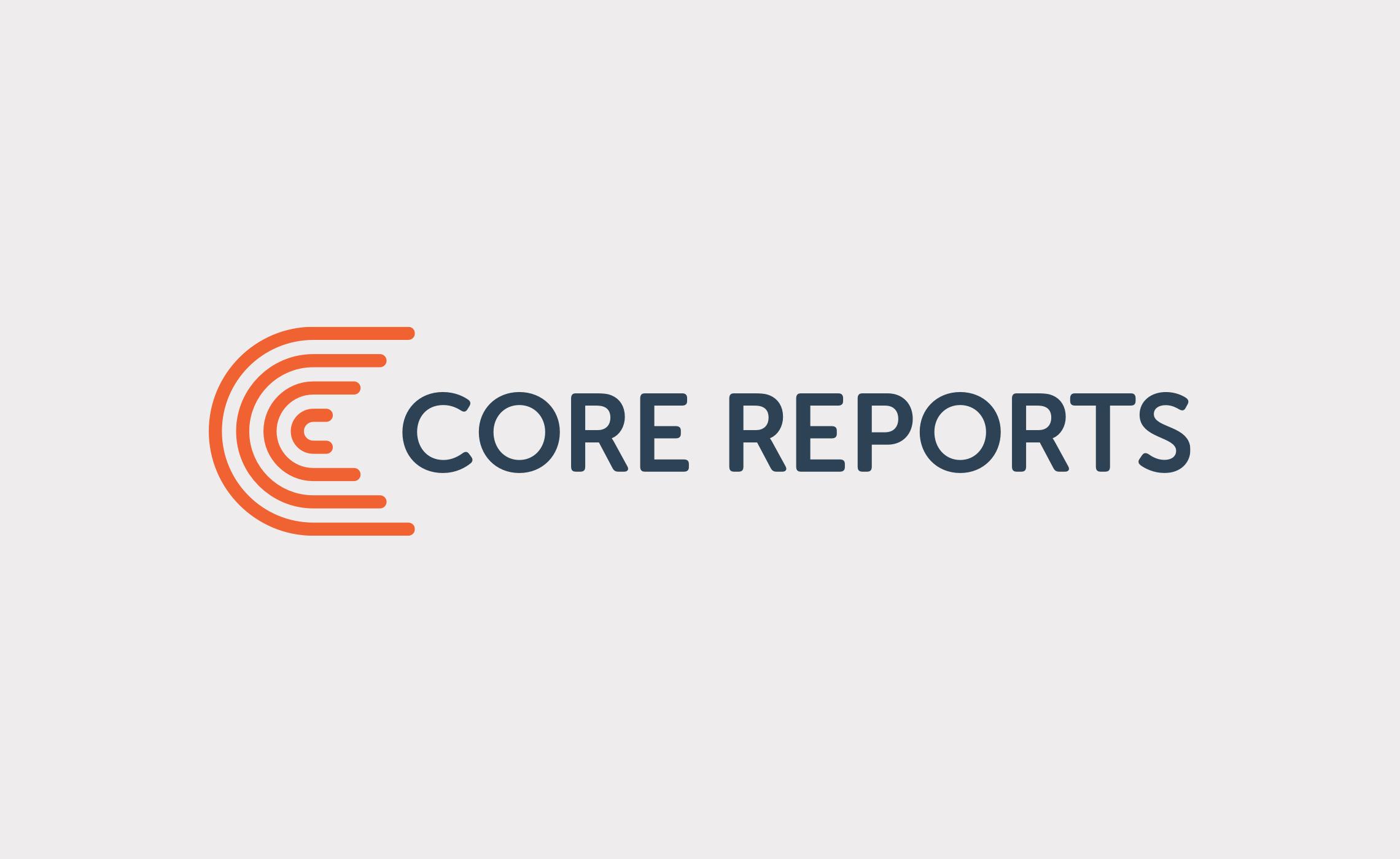 Core Reports – brand identity