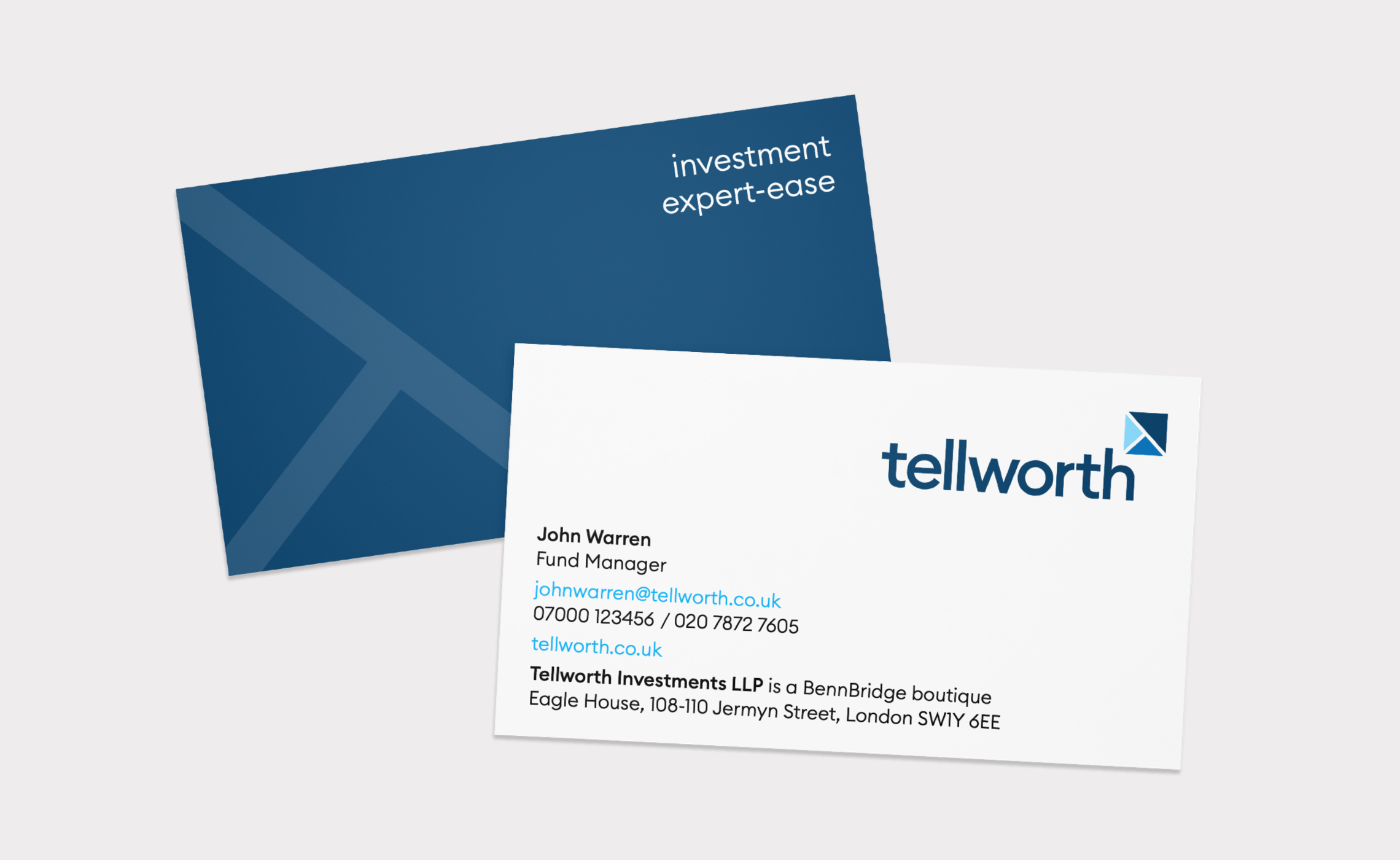 Tellworth – business cards