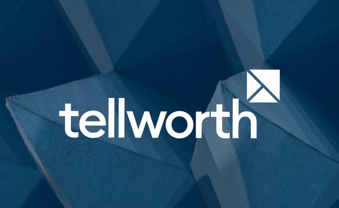 Tellworth – brand identity